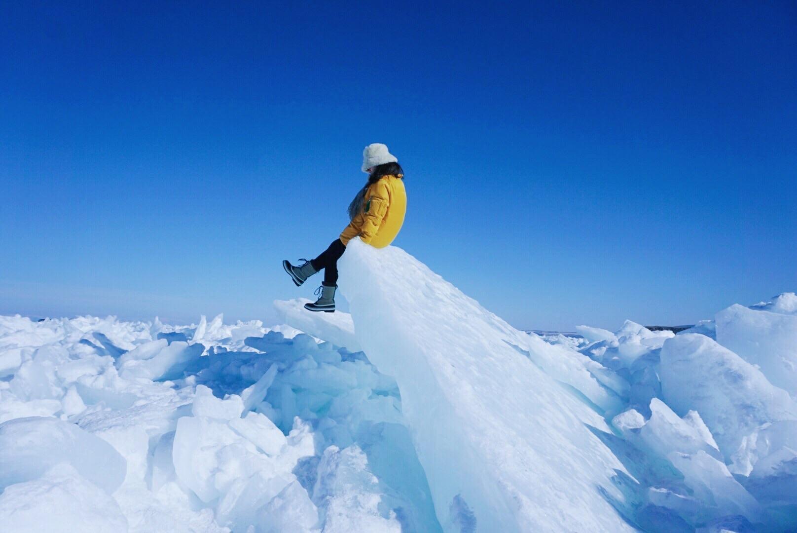 贝加尔湖:冷色调的世界,万物有灵。