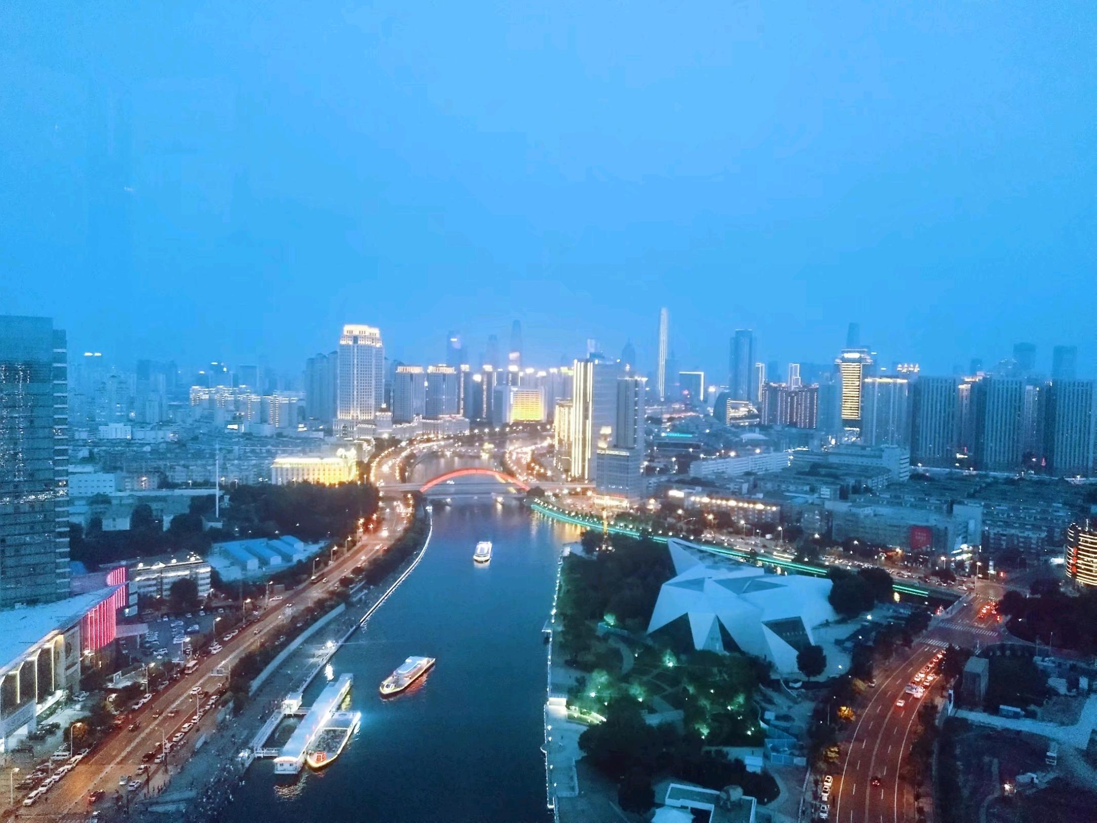 俯天津之眼🎡,童年动物园🦁,民国特色馆🏕游海洋公园🐬天津亲子3日游👪