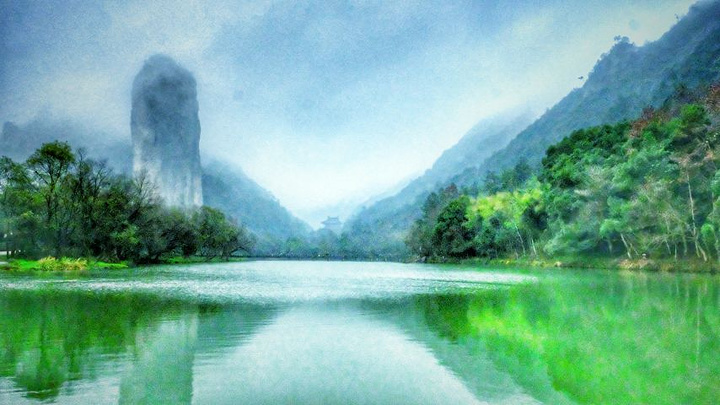 """缙云县城的几个地方,全部游下来需要2-3天的时间,联票100元_仙都""""的"""