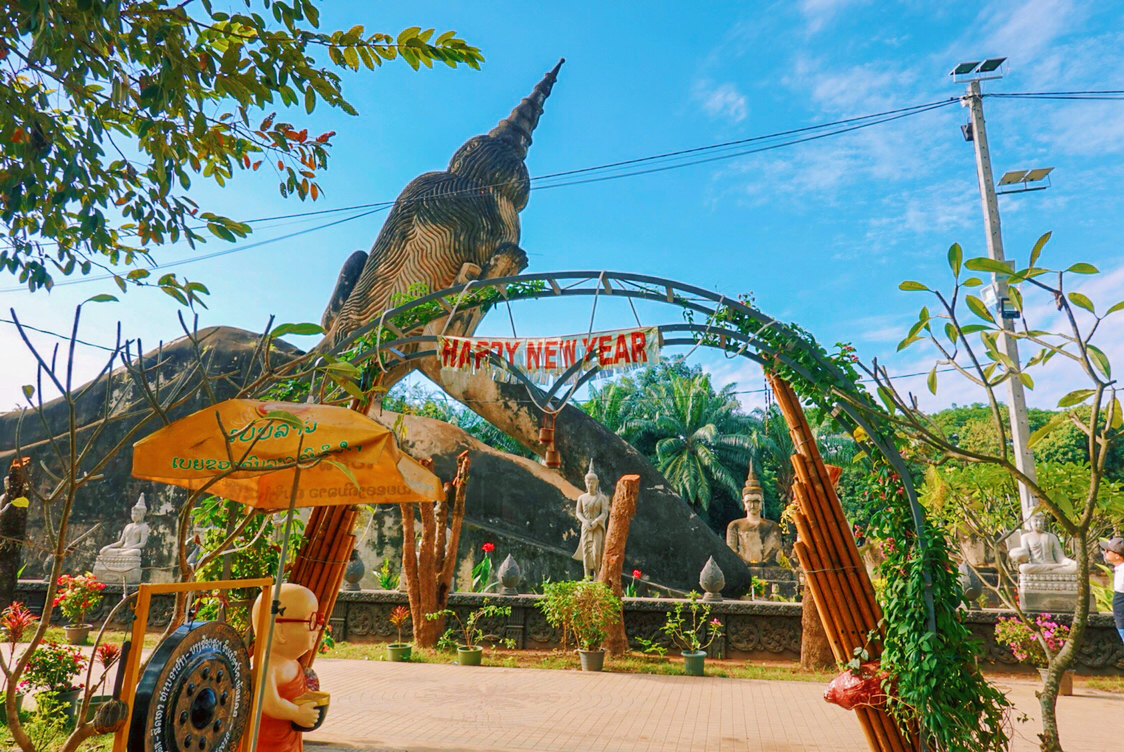 初遇老挝  嗨,你好呀,老挝~