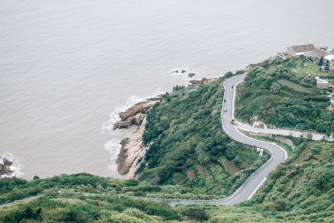 温岭石塘旅游地图