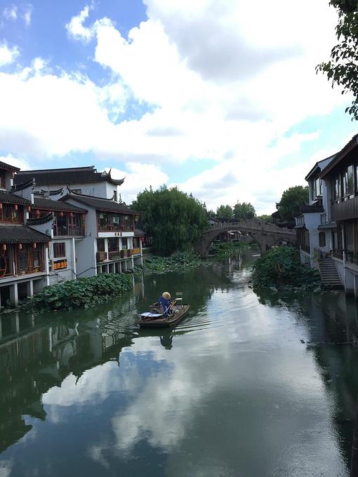 """七寶古鎮        上海閔行區有一個""""七寶古鎮"""",沿蒲匯塘而建,風景如畫"""