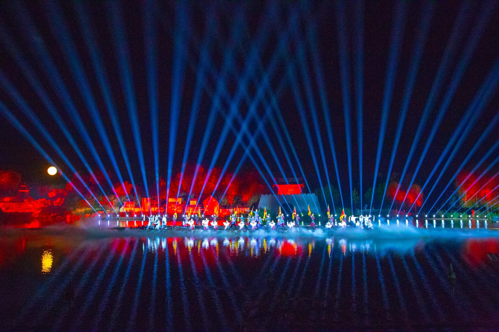 菏泽最大牡丹园,开放大型水上实景演出,13项活动陪你消夏
