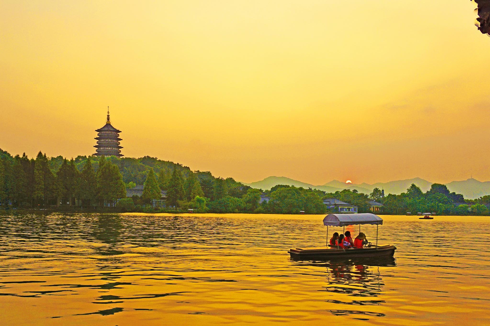 【一城山色半城湖】来杭州感受诗画江南