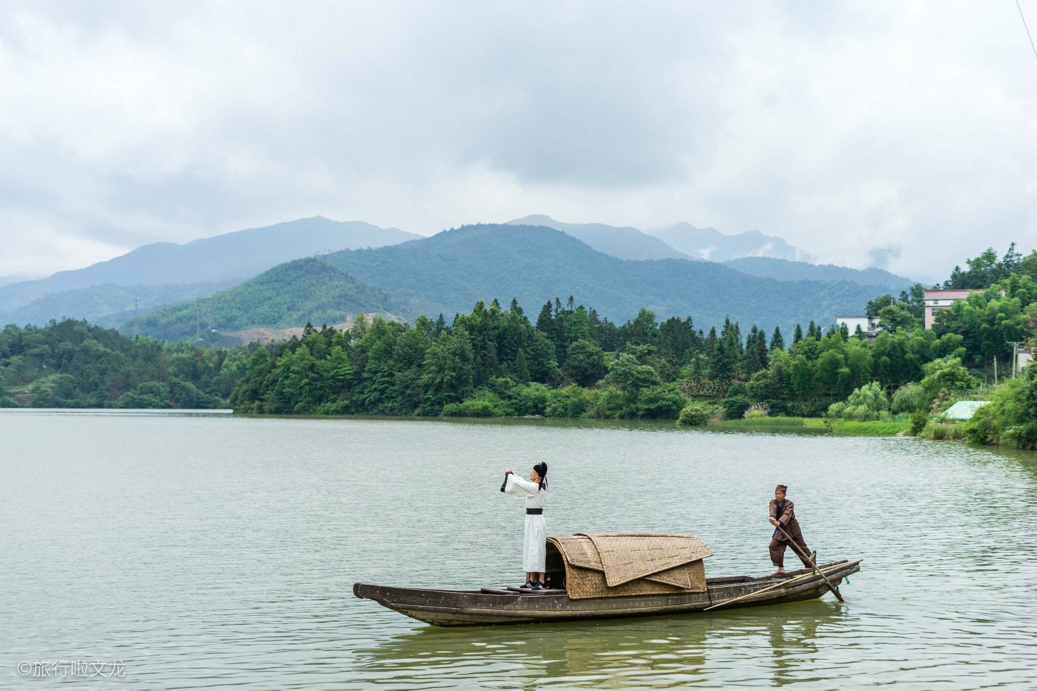 寻道李白秋浦歌,游安徽石台山川和溪河