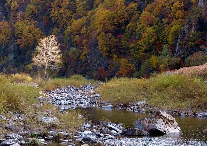 湖里风景区位于本溪县东营坊乡西部,太子河最上游,距本溪水洞40公里