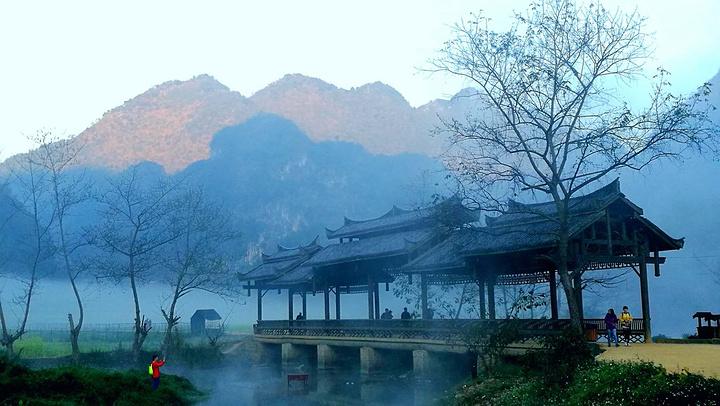 【游玩时长】3小时 坝美村位于云南广南县北部的阿科乡和八达乡交界处