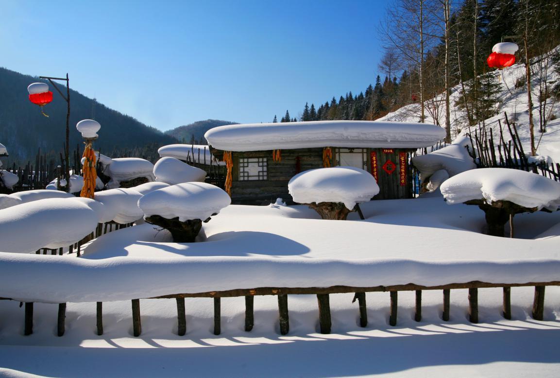 不能错过的黑龙江春季款限定冰雪美景