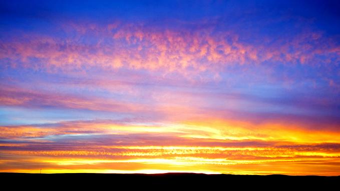 观看日出图片