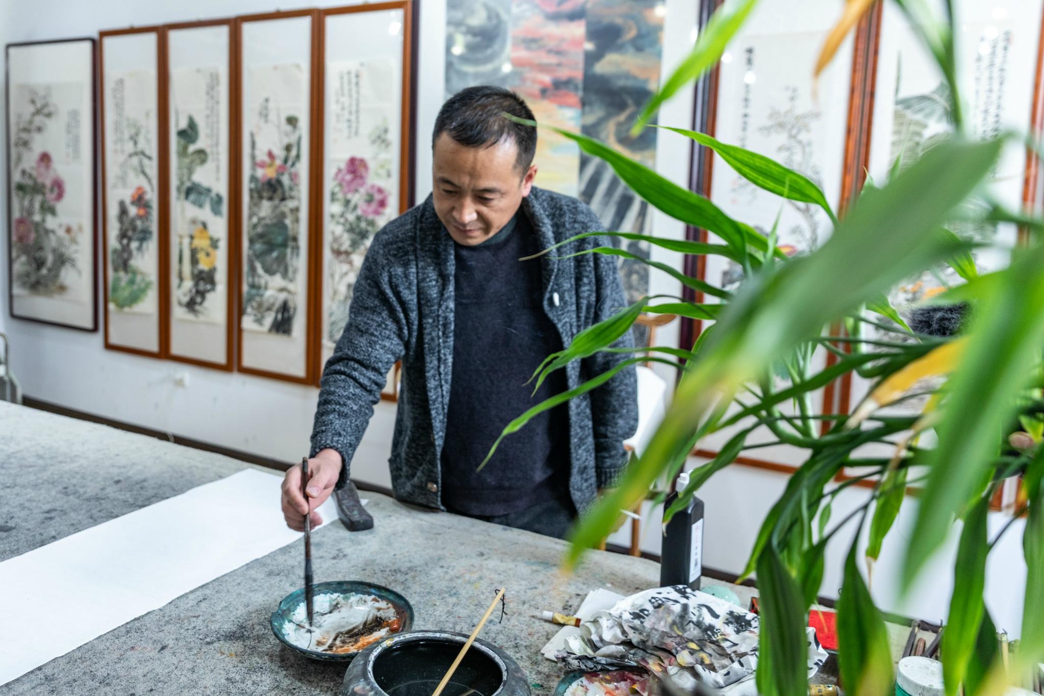 中国书画艺术之乡-墨香通渭