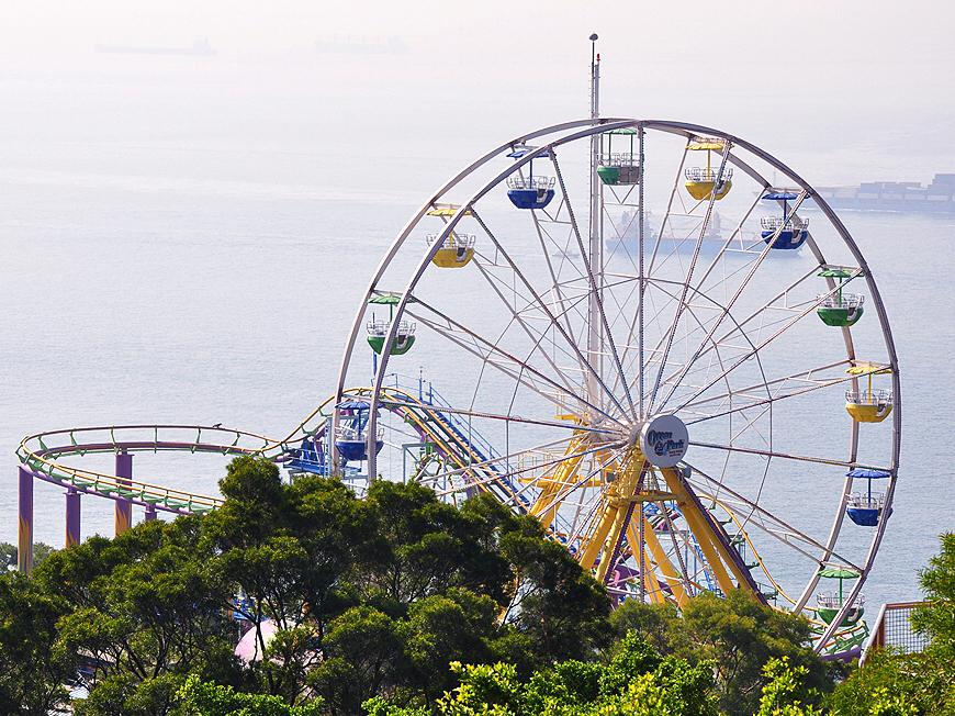 2019香港公园海洋游玩海洋,香港公园攻略飞来应该寺攻略图片