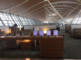 浦东机场国航头等贵宾室
