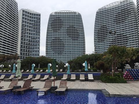 檀悦豪生温泉度假酒店大堂吧旅游景点图片