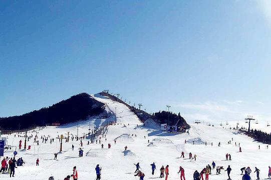 南山滑雪场旅游景点图片