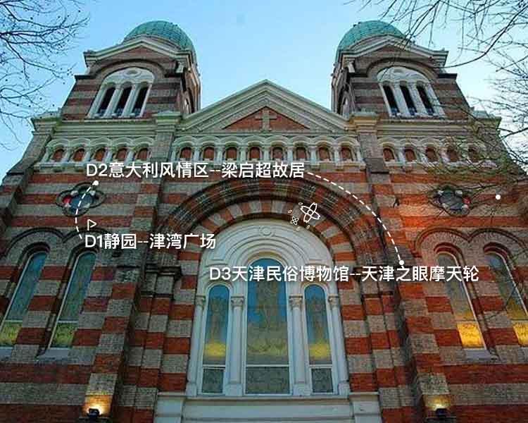 民国寻踪天津3日游