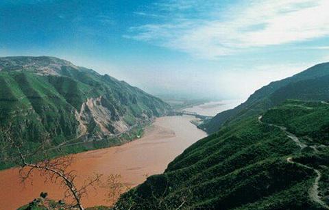黄河龙门古渡风景区