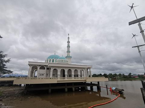 水上清真寺旅游景点图片