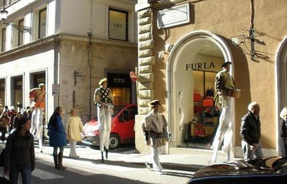 孔多蒂购物街旅游景点图片