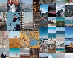 2020|年度旅行合成器,记录这个没有出境游的一年