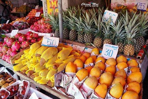 Muang Mai水果市场