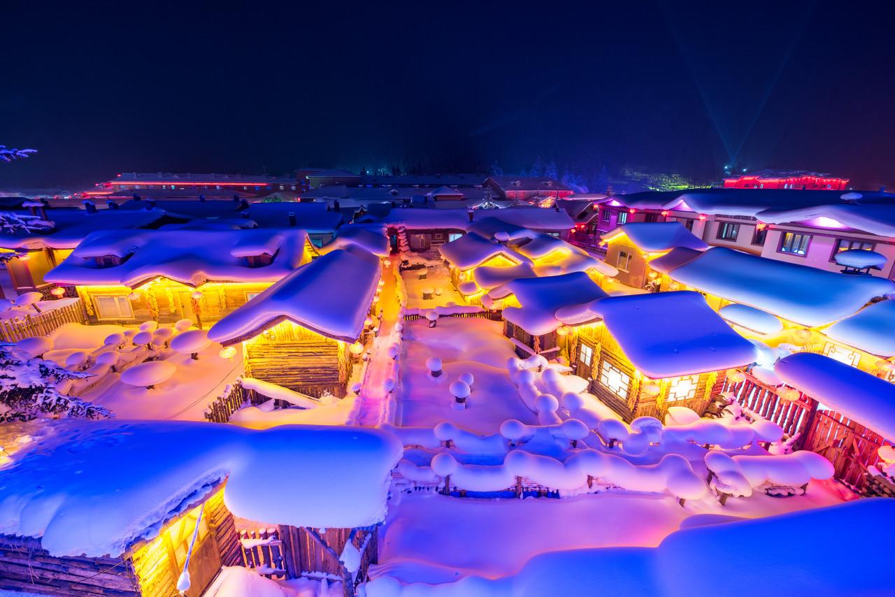 哈尔滨滑雪嗨玩7日线路