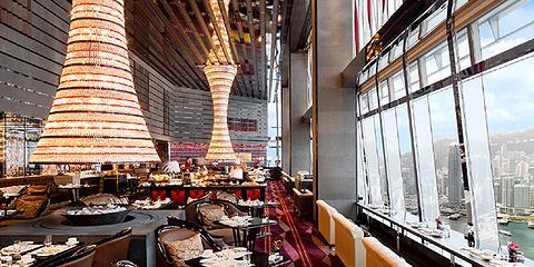 香港丽思卡尔顿酒店大堂酒廊
