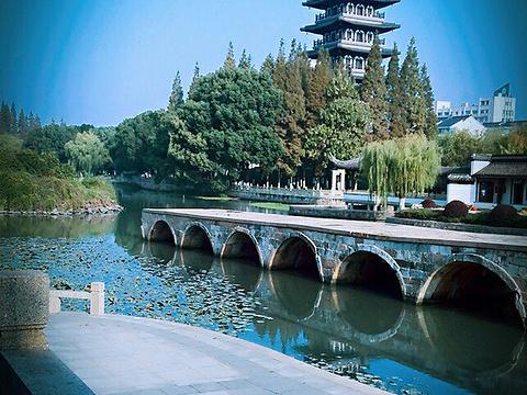 垂虹桥遗址旅游景点图片