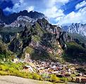 甘南迭部扎尕那高原藏家乐