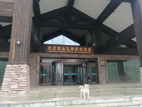 龙顺雪山飞湖度假酒店-室内高尔夫旅游景点图片