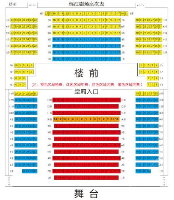 锦江剧场(芙蓉国粹变脸秀)旅游导图