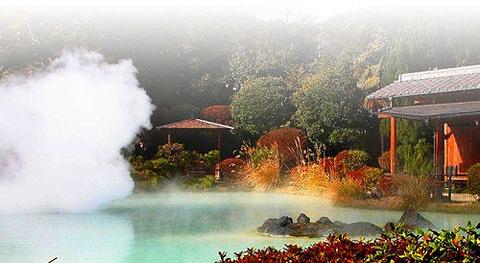 庐山温泉的图片