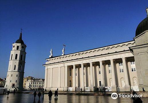 维尔纽斯大教堂旅游景点图片