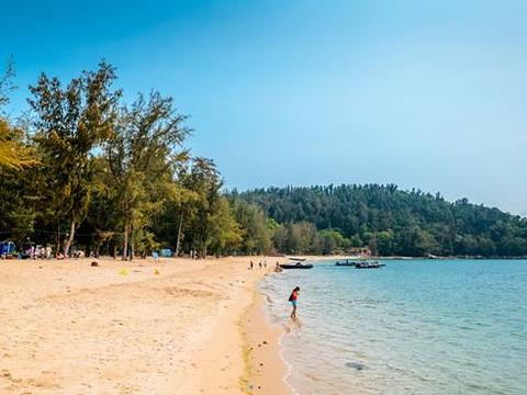 浅澳沙滩旅游景点图片