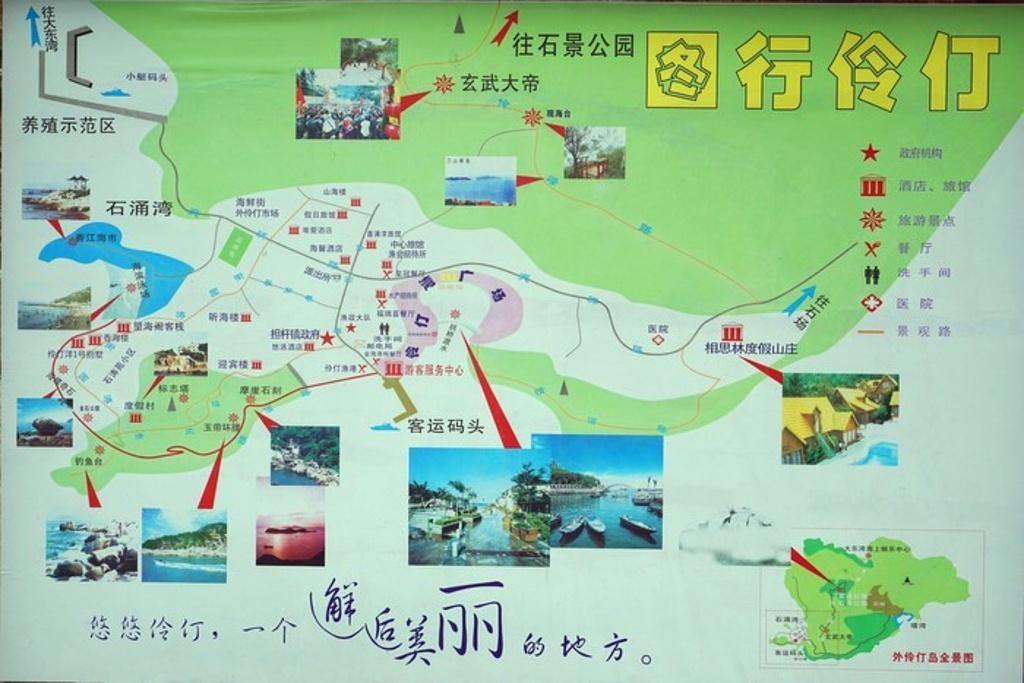 外伶仃岛旅游导图