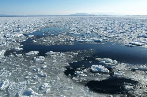 网走流冰观光破冰船极光号的图片