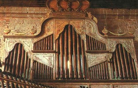 竹风琴大教堂的图片
