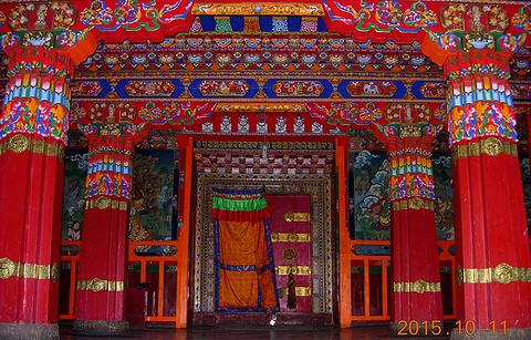 羊八井寺的图片