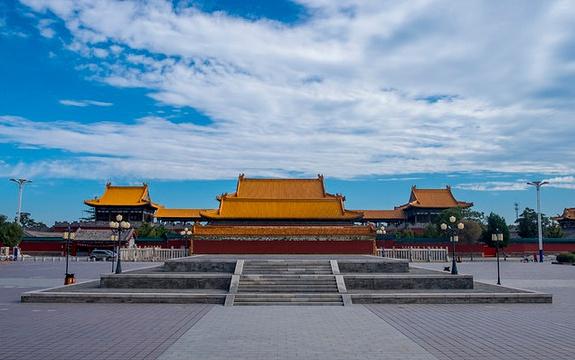 华山西岳庙东道院旅游景点图片