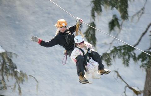 Ziptrek Ecotours生态高空滑索