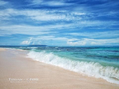 塔加海滩的图片