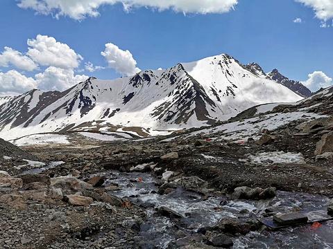 木尔扎特冰川旅游景点图片