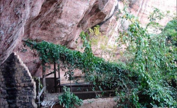 朝阳岩旅游景点图片