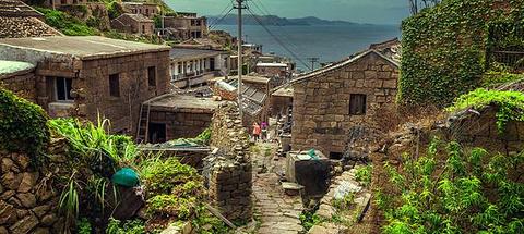 渔村老街的图片