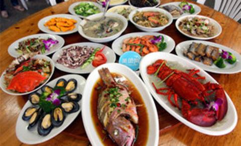 食上海鲜餐厅