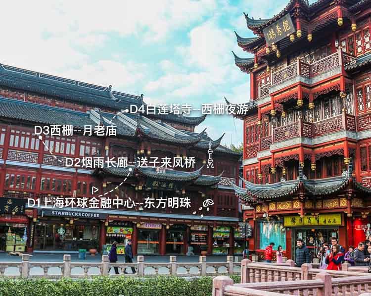 上海-乌镇-西塘,魔都&古镇4日游