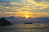 百步沙看日出