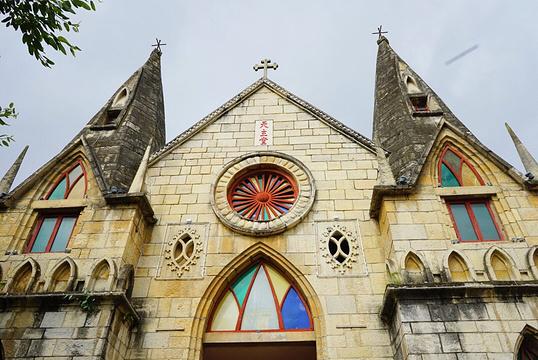 黄果树天主教堂旅游景点图片