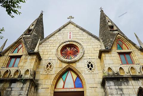 黄果树天主教堂的图片