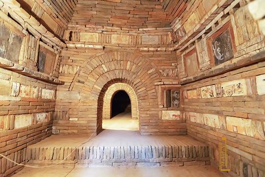 骆驼城墓群旅游景点图片