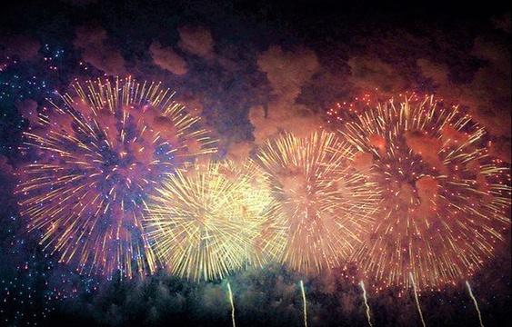 第61回おんぱら祭奉納花火大会旅游景点图片